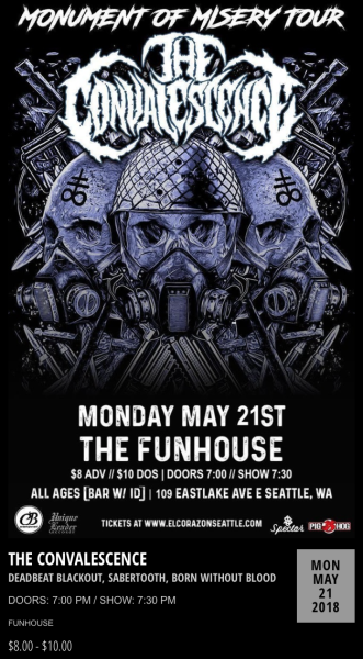 Funhouse - Seattle, WA. May 21, 2018